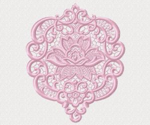 #embroidery #embronetto  Lace Embroidery Designs 02