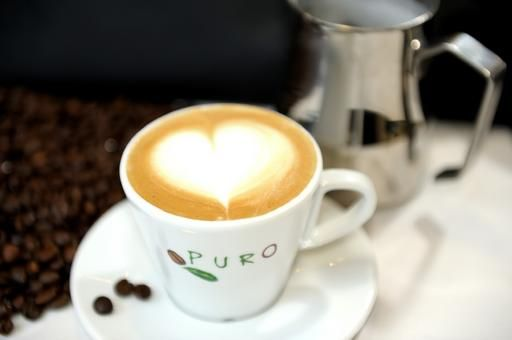 Start the morning with some organic coffee!
