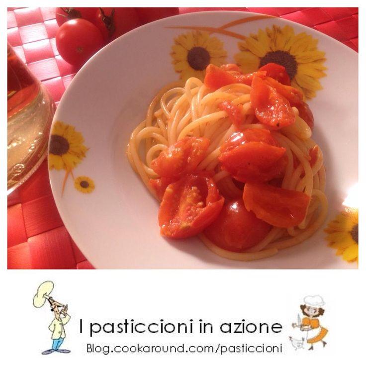 Spaghetti di kamut con pomodorini