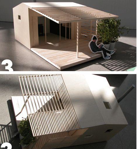 Mini house (15 kvm) va Jonas Wagell.