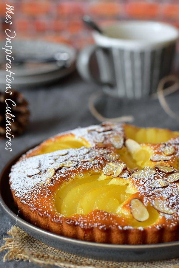 pear moist cake and chocolate chips / Moelleux aux poires aux pépites de chocolat