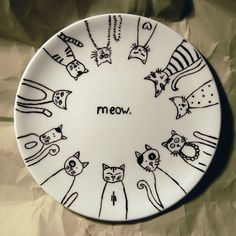 Hand painted porcelain collection by nvnv and co. to purchase visit http://nvnv-and-co.myshopify.com/