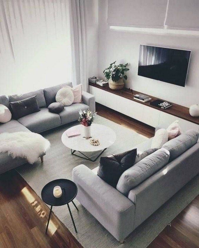 25 Unordinary Grey Living Rooms Design And Decorations Ideas
