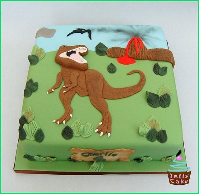 189 Best Images About Dinosaur Cakes And Party Ideas On