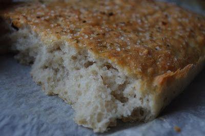 Spiseskje: Glutenfri foccacia