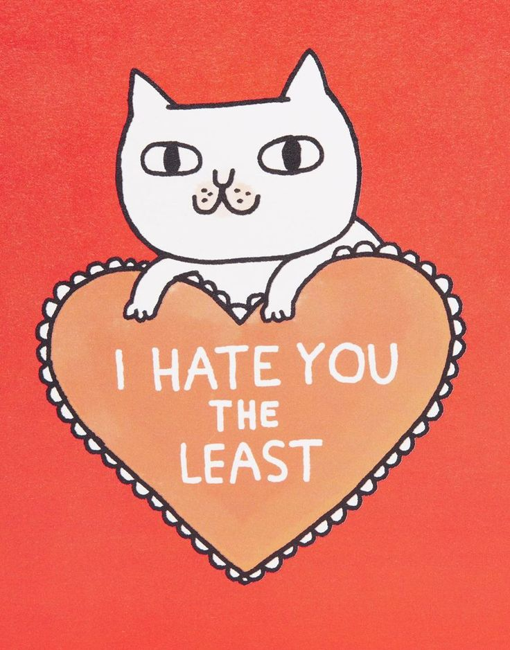 Ohh Deer Gemma Correll – Hate You – Karte