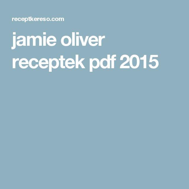 jamie oliver receptek pdf 2015
