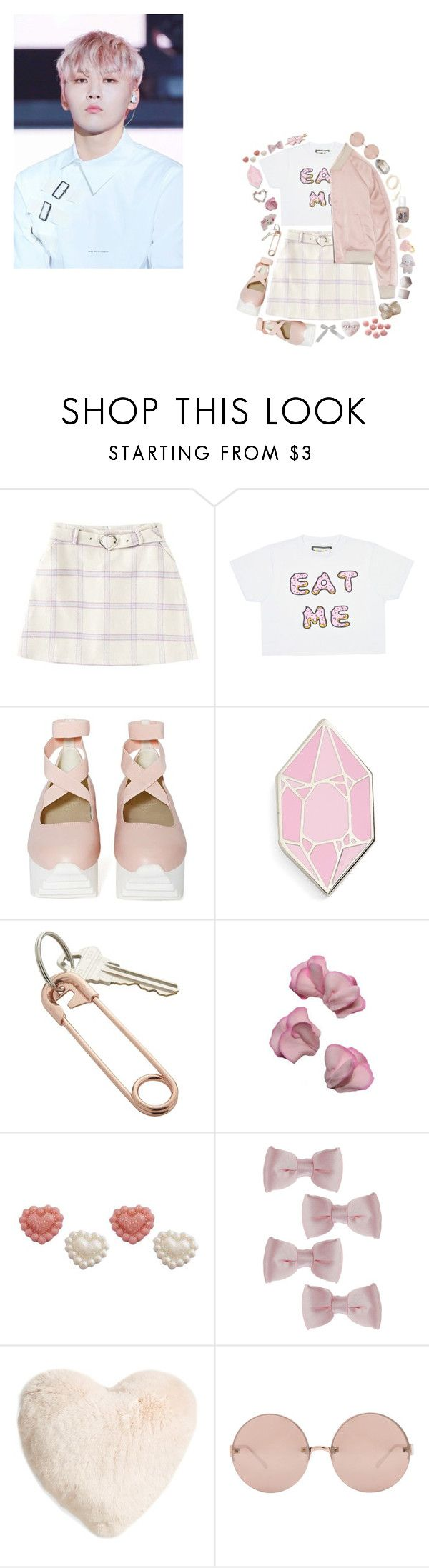 """Shining Diamond - Seventeen"" by choiseungcheols ❤ liked on Polyvore featuring UNIF, Big Bud Press, CB2, Sweet Pea by Stacy Frati, Topshop, Nordstrom and Linda Farrow"