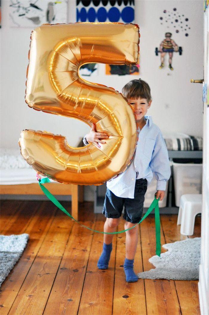 Grote Ballonnen 32 inch Bruiloft Ballonnen Verjaardagspartij Kinderen Goud Folie Nummer Ballonnen 0-9 Helium Nummer ballonnen