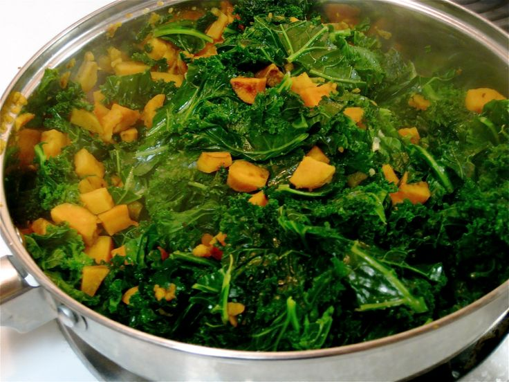 White House Sam Kass' Sweet Potatoes and Greens