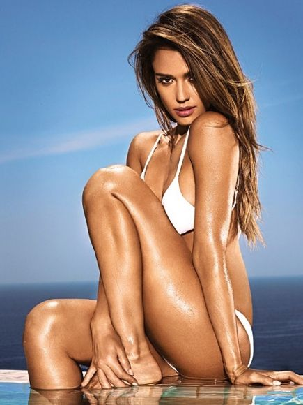 Jessica Alba Bikini Photoshoot for Entertainment Weekly June 2014
