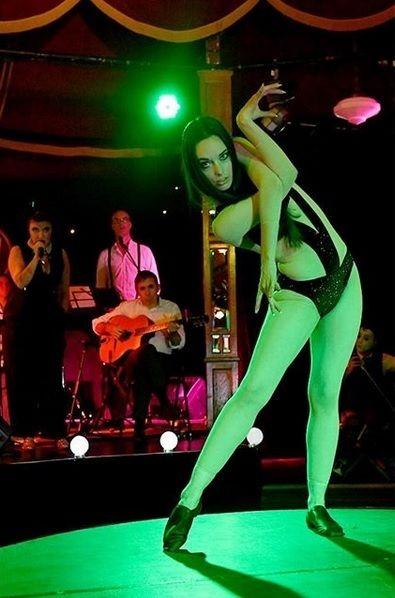 Bridgett Cains, After Hours Cabaret Club, Melbourne Fringe 2017.  Photo: Brig Bee