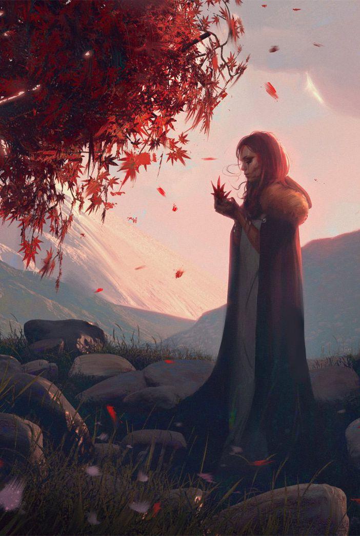 Red Sorrow by Wojtek Fus