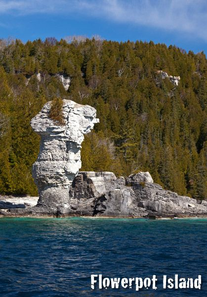 Flowerpot Island Boat Tours from Tobermory, Ontario - Explore The Bruce - Bruce County
