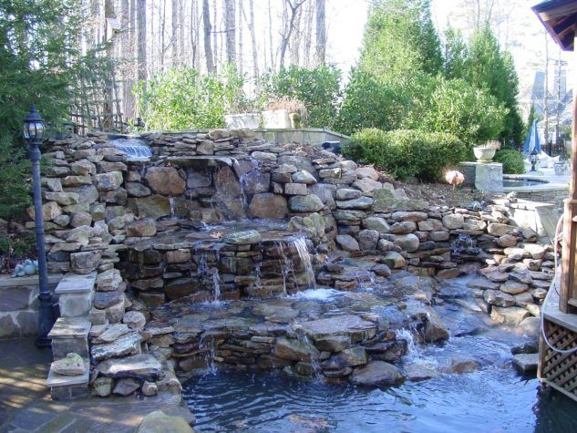 13 best Pond waterfall ideas images on Pinterest Backyard