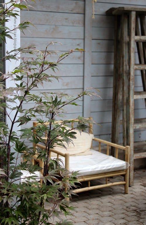 Piazzan: Växthus på Zetas finsmakarens trädgård #Piazzanblogg #växthus #tinekhome #rottingmöbel #rotting