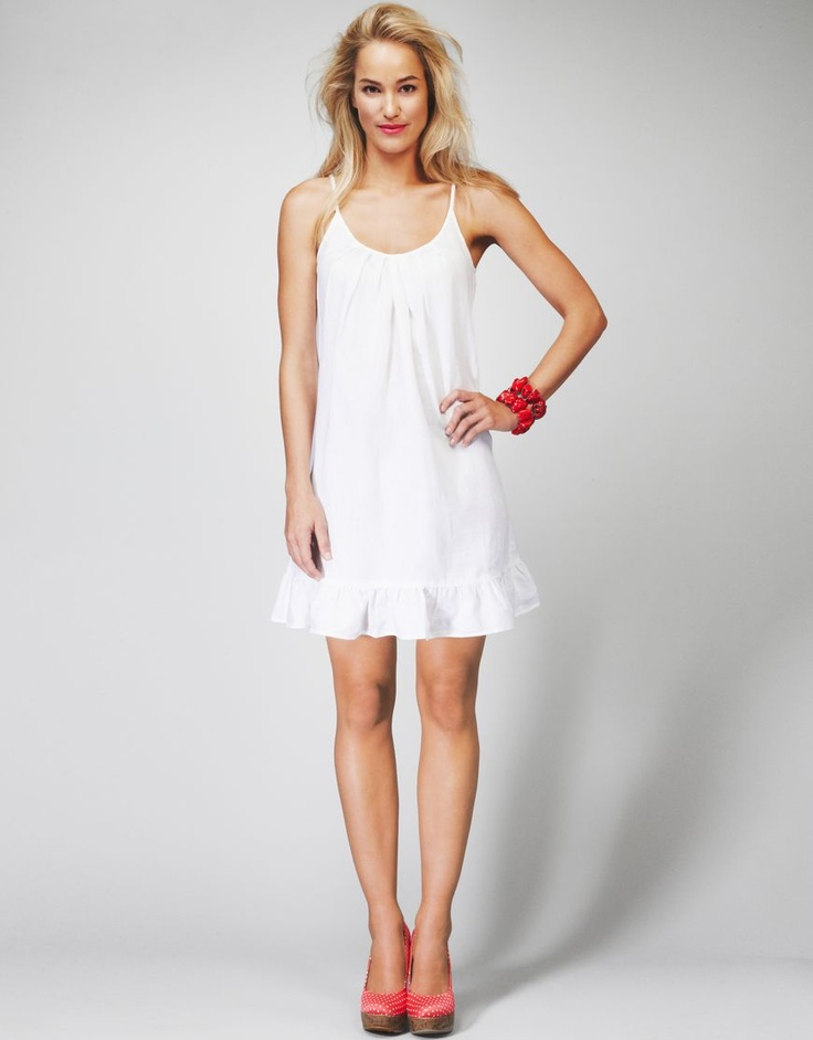 If only I could wear white haha