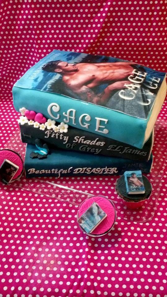Book Cake Harper Sloan - Cage Jase Dean