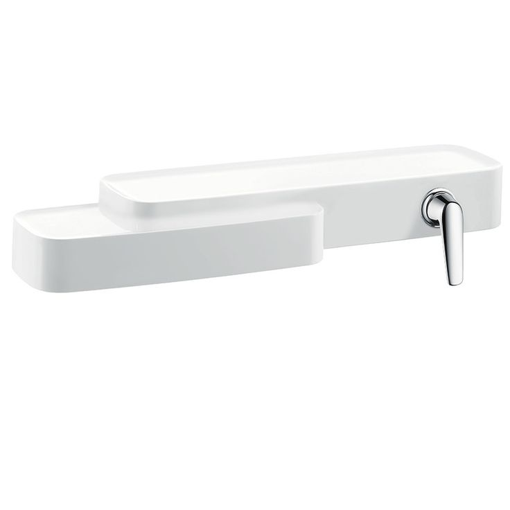 Axor Bouroullec Single Handle Wall Mounted Faucet With Shelf | Wayfair