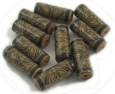 Using Brown Kraft Paper and Brown Paper Bags to Make Paper Beads