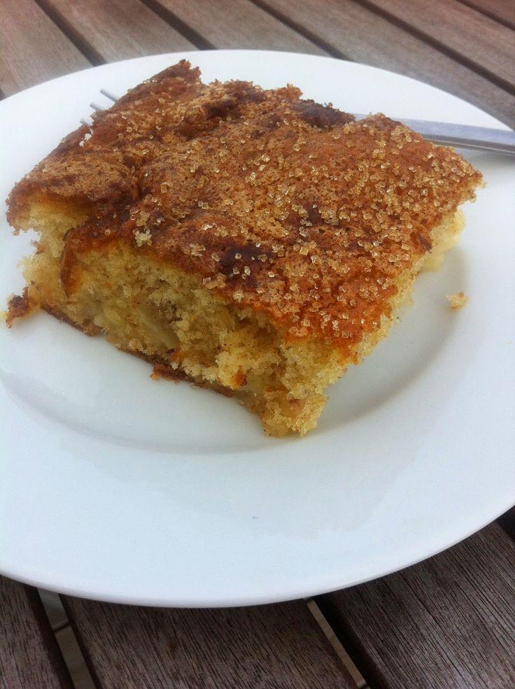Madopskriften: Kage med æble - æblekage