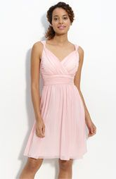 Light pink bridesmaid dresS- I like the style, not the color
