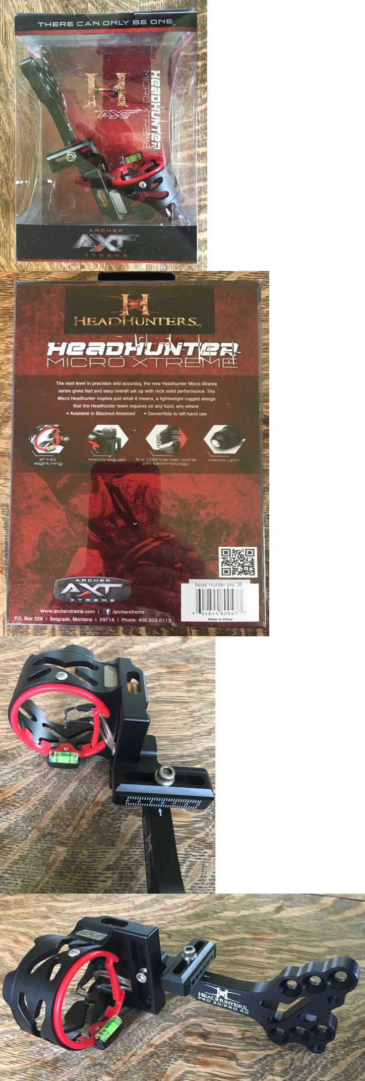 Sights 20845: Archer Xtreme Hh30b Axt Head Hunter Pro 30 3-Pin 0.019 Bow Sight Black Blow Out -> BUY IT NOW ONLY: $51.47 on eBay!