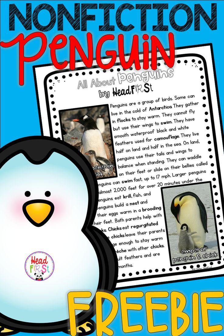 Close Reading Comprehension Passages And Questions On Penguins Freebie Fluency Passages Reading Comprehension Passages Nonfiction Reading Passages [ 1104 x 736 Pixel ]