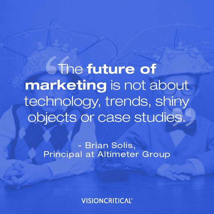 Quote from Brian Solis about the future of marketing