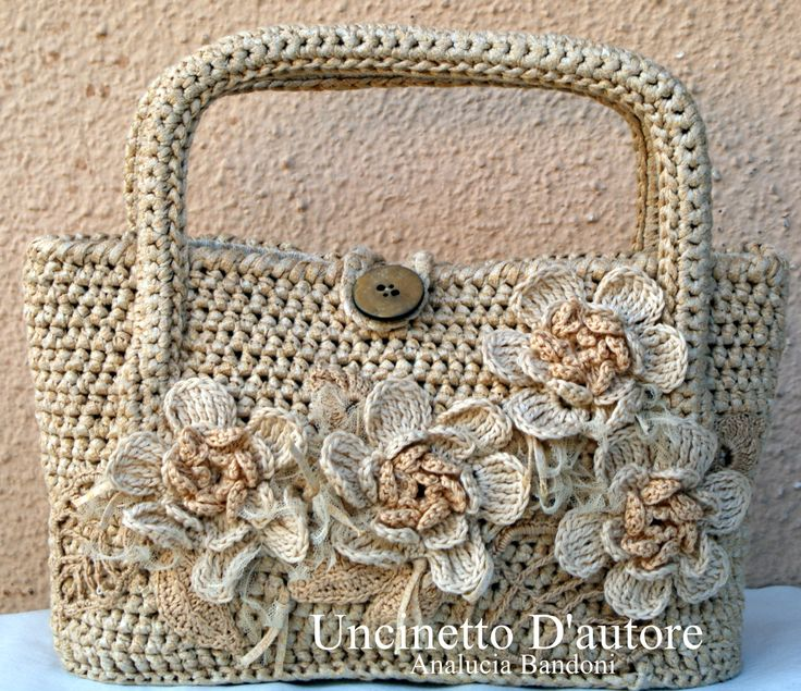 crochet bag borsa uncinetto bolsa croche | Uncinetto D ...
