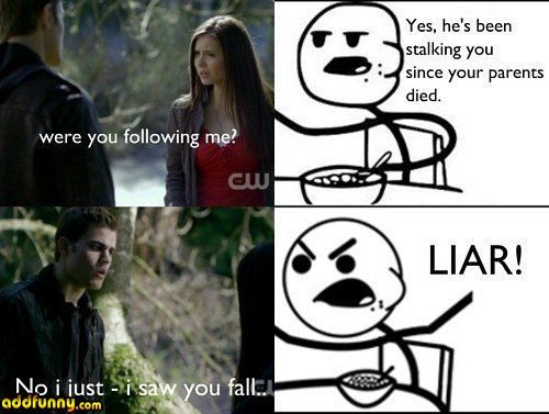 vampire diaries joke | Vampire Diaries Hodgepodge Funny Pictures Add Funny