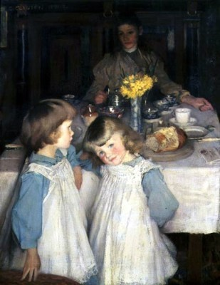 The Breakfast Table, 1891-92 Sir George Clausen: