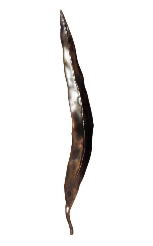 GUMLEAF BRONZE ENTRANCE HANDLE 400mm ctc