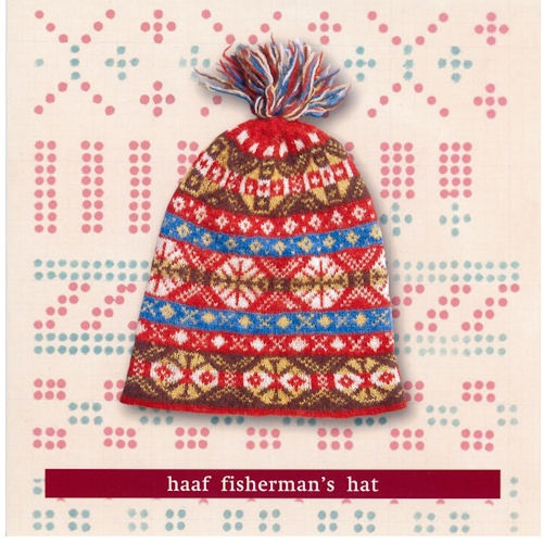 fair isle cap traditional / early colors