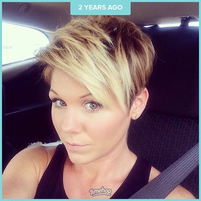 There are days where I wish I was blonde again! Love the red but blonde was so much less maintenance