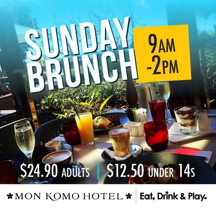 Sunday brunch @monkomohotel