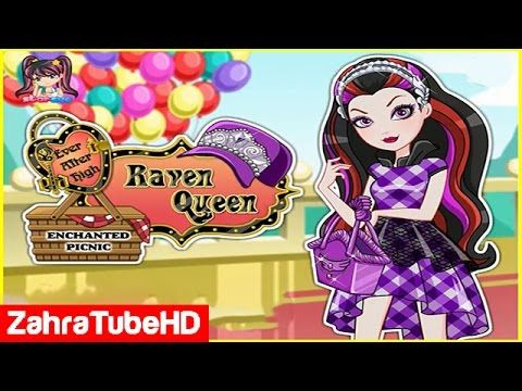 Ever After High Enchanted Picnic   Raven Queen   Dress Up Games