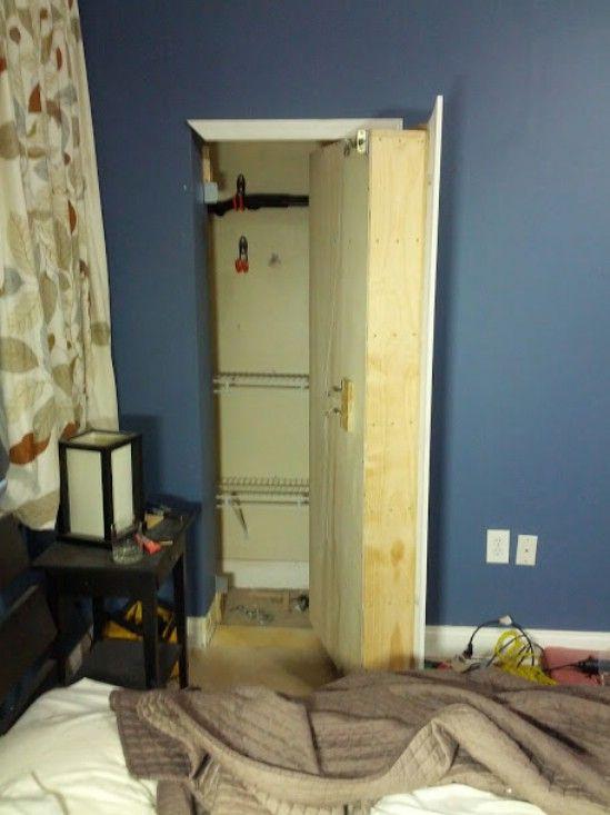 Hidden Bookcase Storage - 15 Secret Hiding Places That Will Fool Even the Smartest Burglar