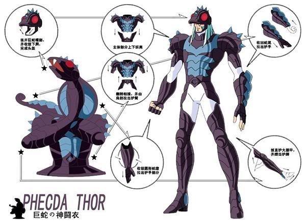 God Warriors -Thor de Gamma Phecda