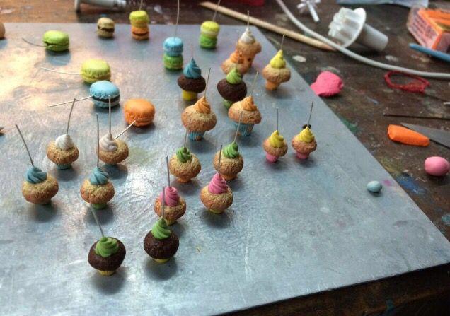 Work in progress!! Muffin and cupcake