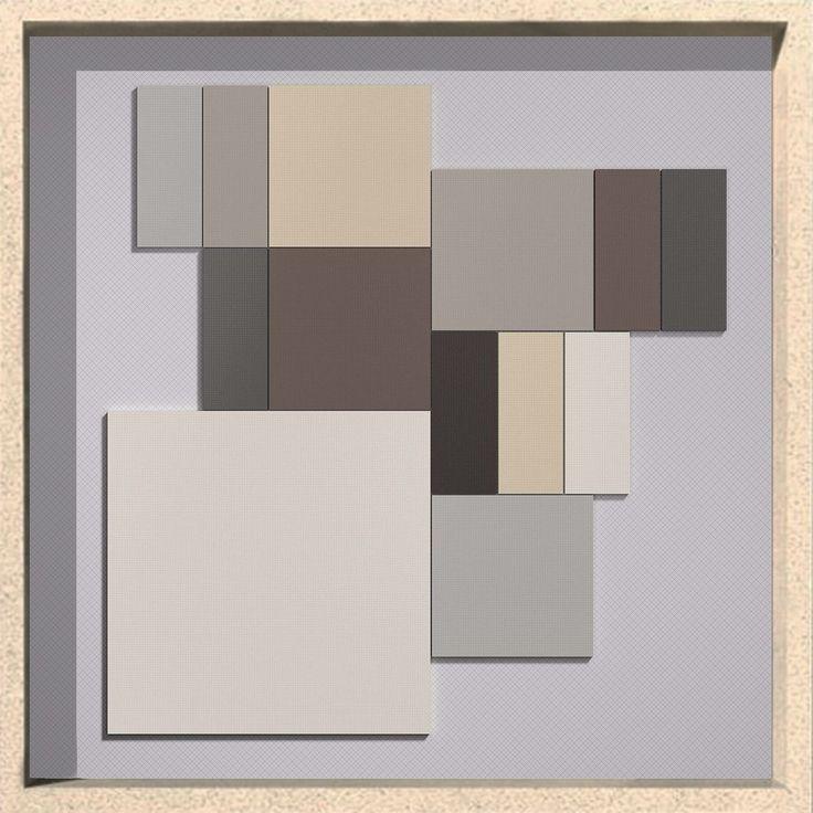 Vogue Graph: Earth Colors. Discover all of 30 colors on our website and start to design with graph! www.ceramicavogue.com  #ceramica #ceramics #tiles #ceramicsofitaly #tileometry #plitka #tegels #carrielage #texture #grid #designinspiration  #design #tile #keramik #graph #millimetre #interiordesign #architecture #wall #porcelain #blackandwhite #piastrelle #interiordecor #colors #grid #gridlines #architectureporn  #archiproducts #archilovers #ceramicavogue