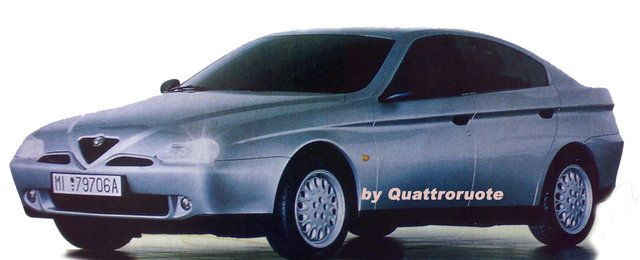 OG | Alfa Romeo 166 | Full-size mock-up