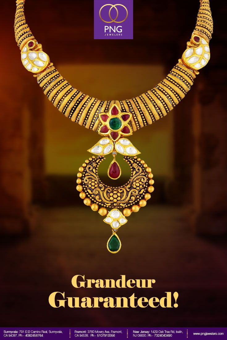 Look Regal Adorned In This Kundan And Gold Necklace Buy It Now From Pngjewelers Www Pngjewelers Gold Necklace Simple Circle Jewelry Bridal Gold Jewellery