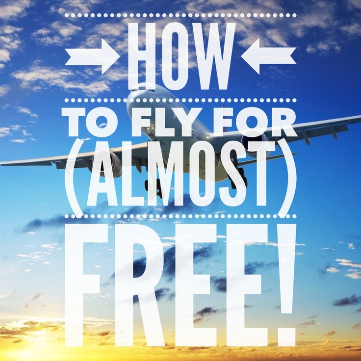 How to fly for almost free airfare tickets travel