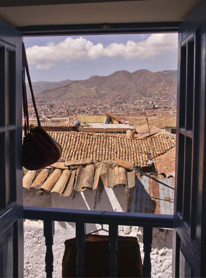 Peru Cusco rooftops