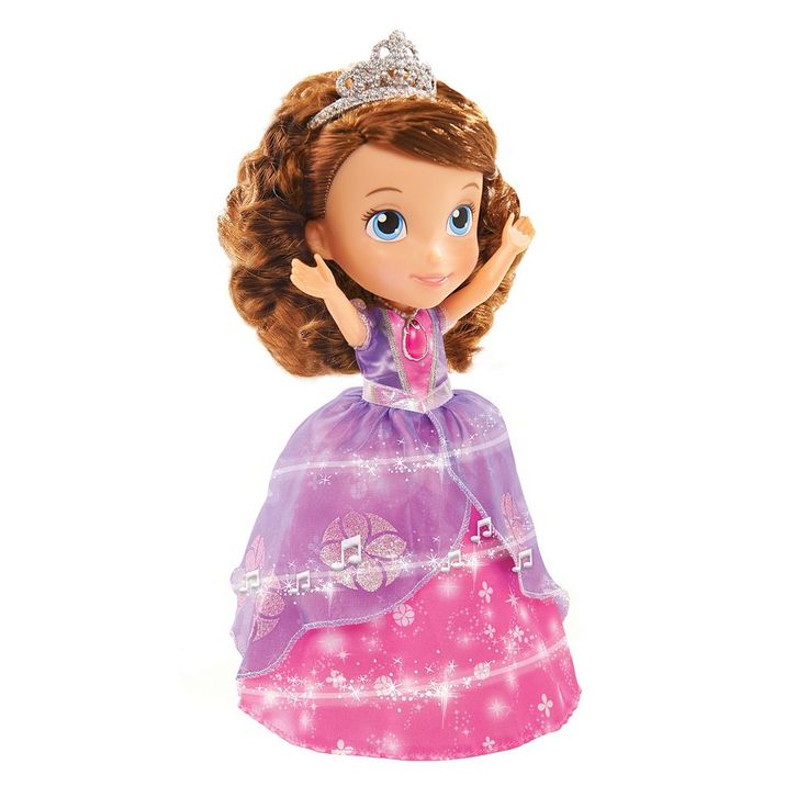 Disney Jr. Sofia the First Magic Dancing Sofia Doll, Multicolor