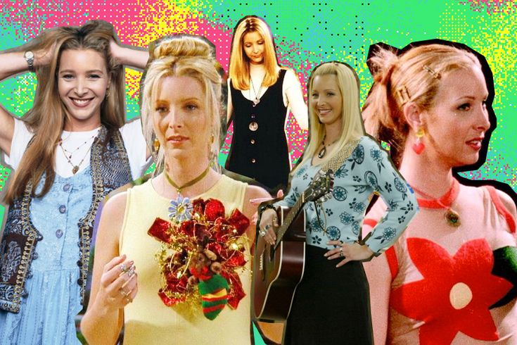 phoebe buffay style: wear the rainbow!
