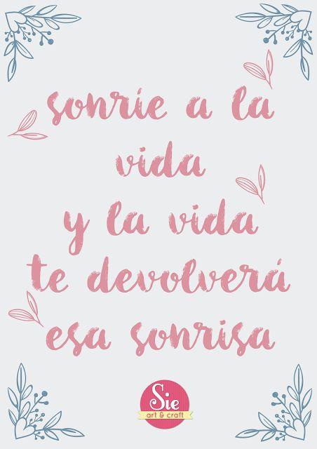 Sonríe a la vida ♥