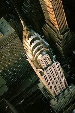 NYC. Chrysler Building,  Art Deco style skyscraper