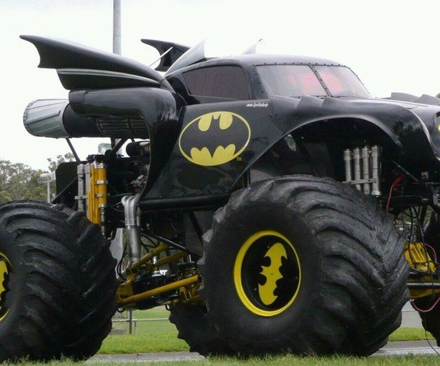 .whoever drives this really knows how to drive in style :D lol batman is pretty awesome!!!